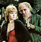 Ron Moody as Fagin & Shani Wallis as Nancy in the film 'Oliver!'