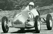Stirling Moss in his Cooper MkII in 1948