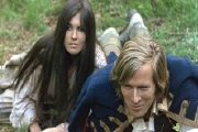 Caroline Munro and Horst Janson in Captain Kronos - Vampire Hunter