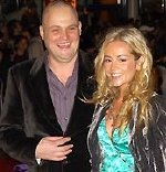Al Murray with his wife, Amber, in 2008