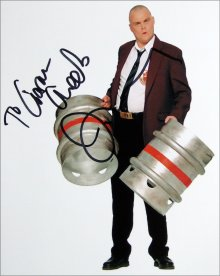 Signed photograph of Al Murray as 'The Pub Landlord'