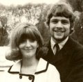 Paul Nicholas with his first wife Susan