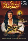 Poster for the Carl Rosa production of Gilbert & Sullivan's 'The Pirates of Penzance' in 2010