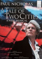 Poster for the 1998 production of the musical 'A Tale of two Cities'