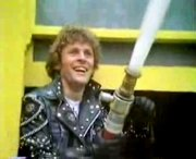 Paul Nicholas as Cousin Kevin in 'Tommy'