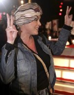 Brigitte Nielsen leaves the Big Brother house after finishing in third place!