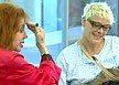 Brigitte Nielsen with ex-mother-in-law Jackie Stallone on Channel 4's 'Big Brother'