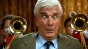 Leslie Nielsen as Frank Drebin in 'The Naked Gun: From the Files of the Police Squad'