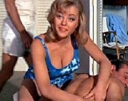 Margaret Nolan as Dink in 'Goldfinger'
