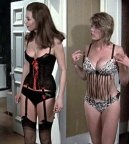 Valerie Leon and Margaret Nolan in 'No Sex Please We're British'