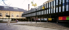 The new Nottingham Playhouse in the late 1960s