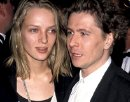 Gary Oldman with his second wife Uma Thurman