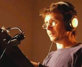 Gary Oldman recording voice-over work