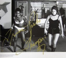 Trina Parks signed photograph