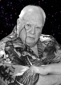 Ciaran Brown's photographic portrait of Sir Patrick Moore