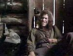 Ron Perlman as Pap Finn in 'The Adventures of Huck Finn'