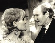 Leslie Phillips and Joanne Dainton in Dial M For Murder