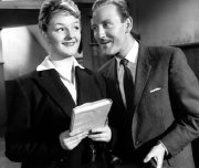 Joan Sims and Leslie Phillips in Carry On Teacher