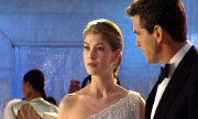 Rosamund Pike & Pierce Brosnan in 'Die Another Day'