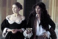 Rosamund Pike & Johnny Depp in 'The Libertine'