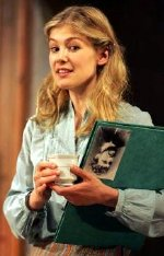 Rosamund Pike in 'Performances' at Wilton's Music hall