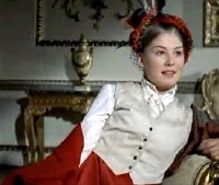 Rosamund Pike as Lady Harriet Cumnor in 'Wives and Daughters'