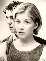 Rosamund Pike in a student production