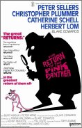 Film poster for 'The Return of the Pink Panther'