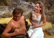 Jacki Piper & Terry Scott in 'Carry On Up the Jungle'
