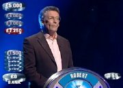 Robert Powell taking part in a celebrity version of 'The Weakest Link'