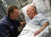 Robert Powell in 'Holby City'