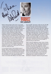 Robert Powell signed programme for 'Doctor in the House'