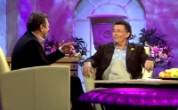 Robert Powell being interviewed by Alan Titchmarsh