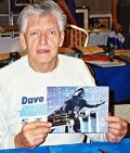 Dave Prowse with signed photo