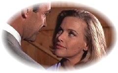 Honour Blackman & Sean Connery in Goldfinger