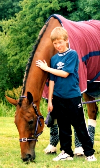 Ciaran Brown with Quixall Crossett