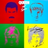 Queen - 'Hot Space' studio album (1982) - LP cover signed by Brian May