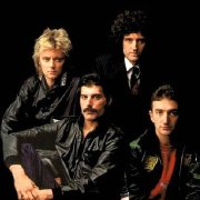 Photograph taken by Lord Snowdon and used on the cover of Queen's 'The Greatest Hits' album