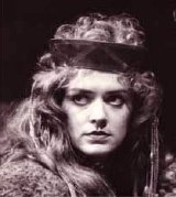 Patricia Quinn as Lady Macbeth in Shakespeare's play 'Macbeth' at the Bristol Old Vic in 1976