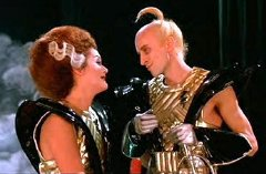 Patricia Quinn & Richard O'Brien in 'The Rocky Horror Picture Show' (1975)