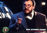 Trading card showing John Rhys-Davies in 'Sliders'