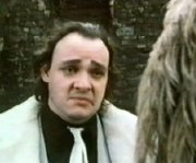 John Rhys-Davies as Laughing Spam Fritter in 'Budgie'