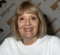Diana Rigg at the Entertainment Media Show (Earl's Court 2011)