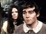 Diana Rigg and Michael Jayston in the RSC's film version of 'A Midsummer Night's Dream' (1968)