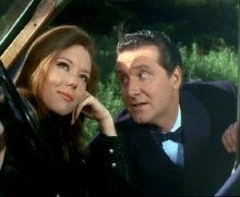 Diana Rigg & Patrick MacNee in 'The Avengers'