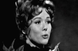Diana Rigg as Adrianna in Shakespeare's 'Comedy of Errors' (1964)