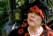 Diana Rigg in the title role of 'The Mrs Bradley Mysteries'