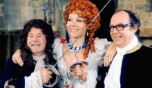 Diana Rigg on 'The Morecambe and Wise Christmas Show' in 1975