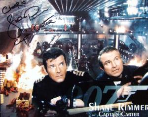 Shane Rimmer signed photograph