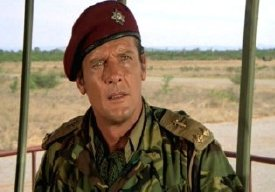 Roger Moore as Lt. Shawn Fynn in 'The Wild Geese'